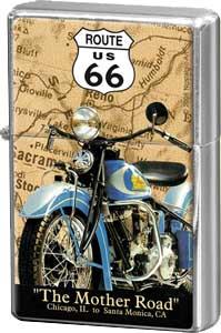 "Feuerzeug ""Route 66"""