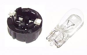 Lamp holder T10 wedge