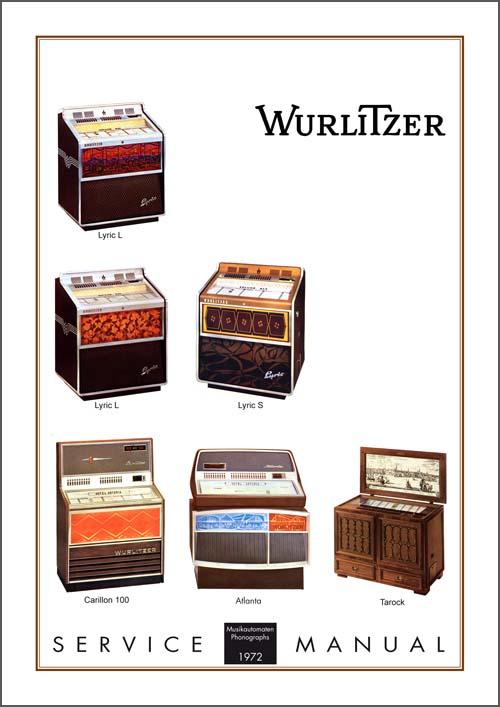 Service Manual Models 1972