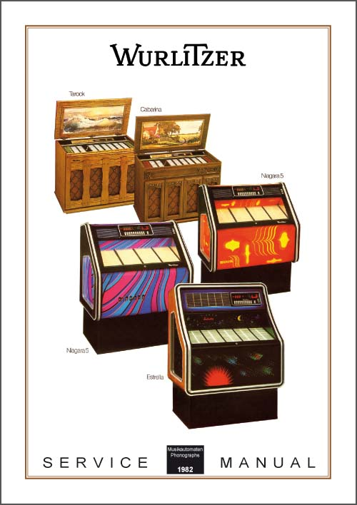 Service Manual Modelle 1982