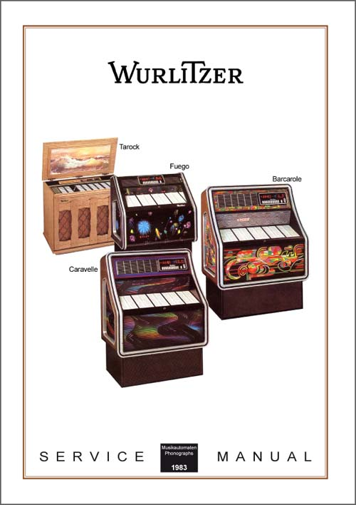 Service Manual Modelle 1983