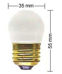 E27 lamp 7,5W/110V