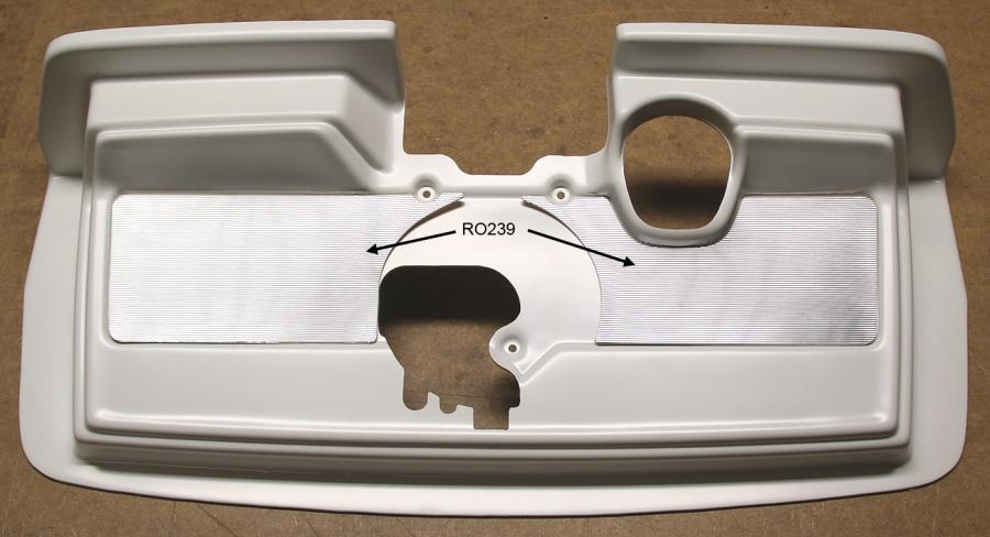 Inserts for Regis mechanism cover