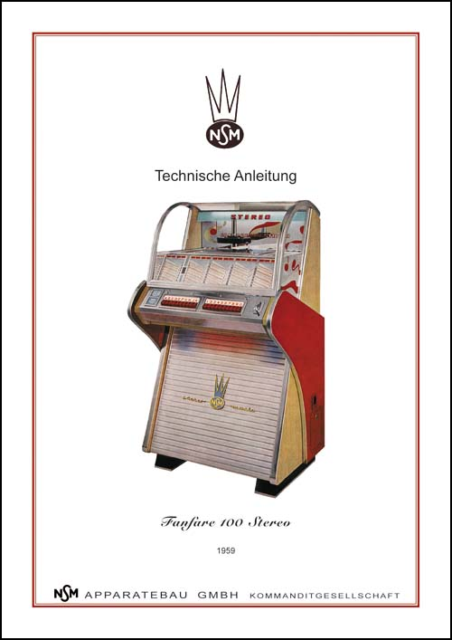 Service Manual Fanfare 100 Stereo