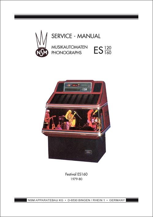 Service Manual Festival ES 160 und ES II