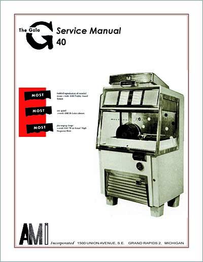 Service Manual AMI G-40