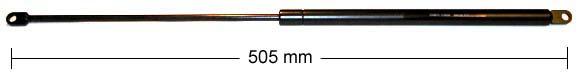 Gasfeder 350N
