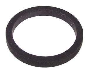 Rubber ring for idler wheel