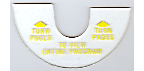 "Instruktionsplatte ""Turn Pages"", 3WA"