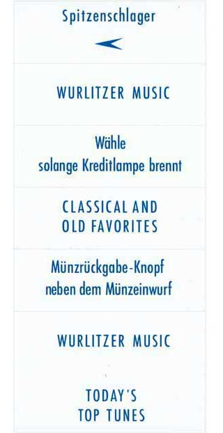 Instruction inserts, blue, German