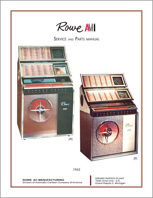 Service Manual Rowe/AMI JAL, JEL