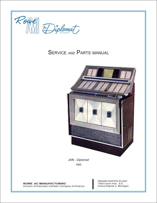 Service Manual Rowe/AMI JAN