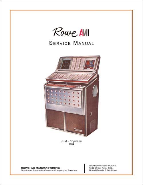 Service Manual Rowe/AMI JBM