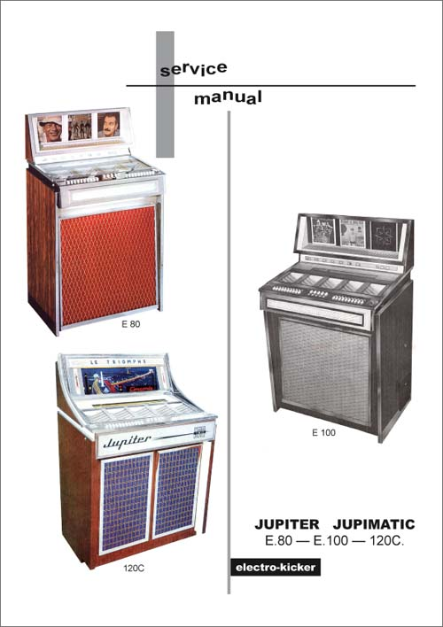Service Manual Jupiter E80, E100 and 120C