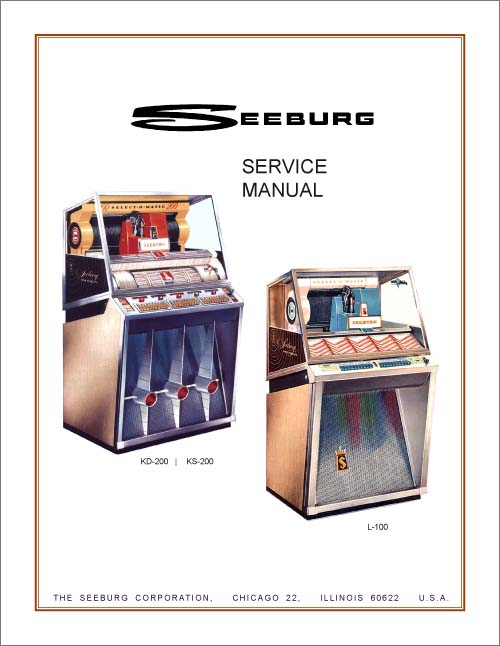 Service Manual Seeburg KD, KS, L100
