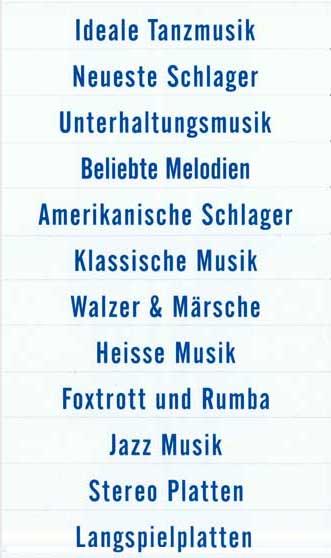 Klassifikationsstreifen, blau, deutsch