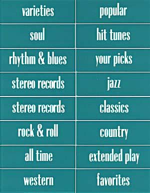 Classification strips Conti 1, English