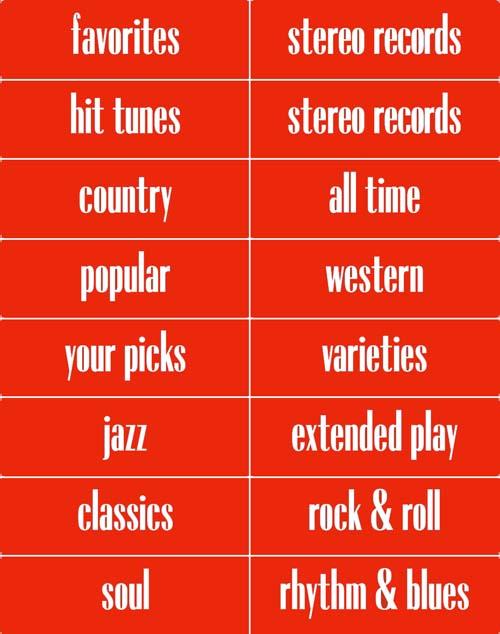 Classification strips Conti 2, English