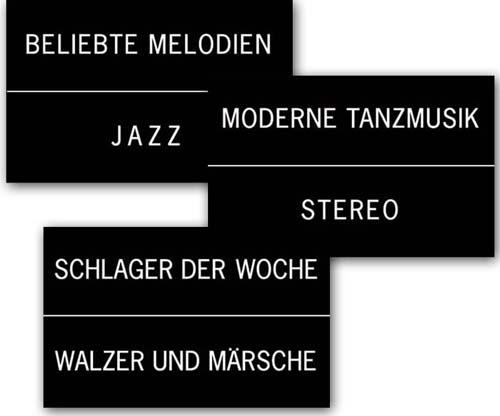 Classification cards Regis, DE