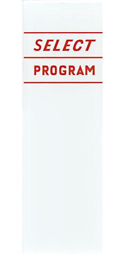 "Instruction glas ""Select Program"""