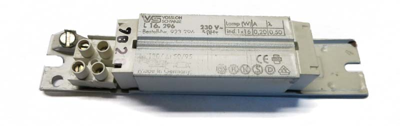 Ballast 16W / 230V