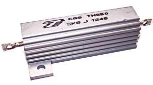 Lastwiderstand 5,6 KOhm, 50 Watt