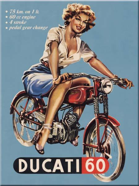 "Magnet ""Ducati 60"""