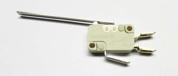 Micro switch with long lever