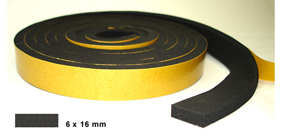 Foam rubber 6x16