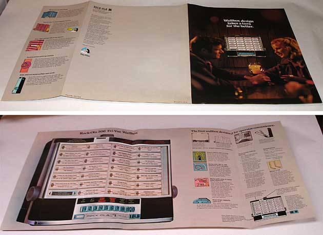 Broschüre Rock-Ola 506