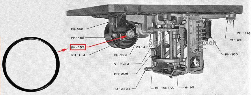 Antriebsriemen 1936-38