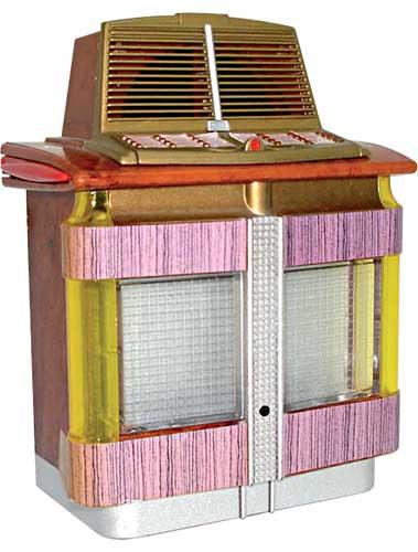 Miniature jukebox Aireon 1200A