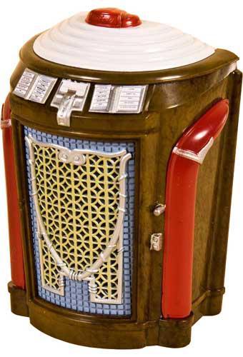 Miniature jukebox Seeburg 147