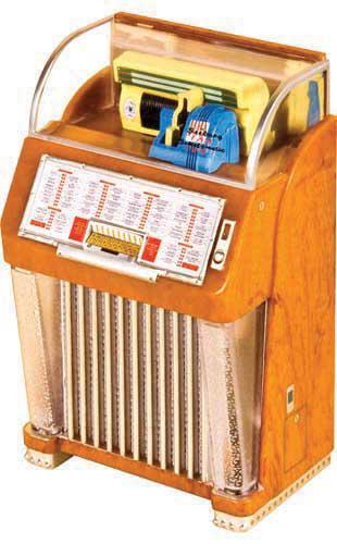 Miniature jukebox Seenurg M100C