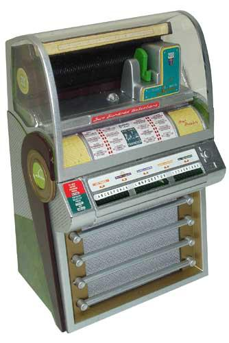 Miniature jukebox Seeburg V200