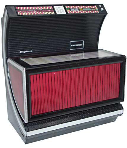 Miniature jukebox Seeburg USC2