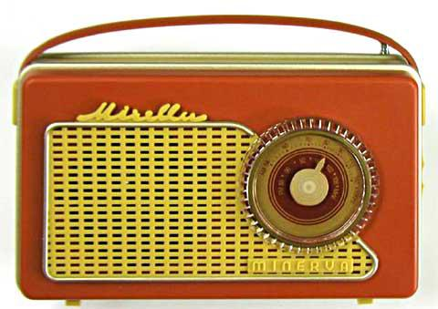 "Miniature radio Minerva ""Mirella"""