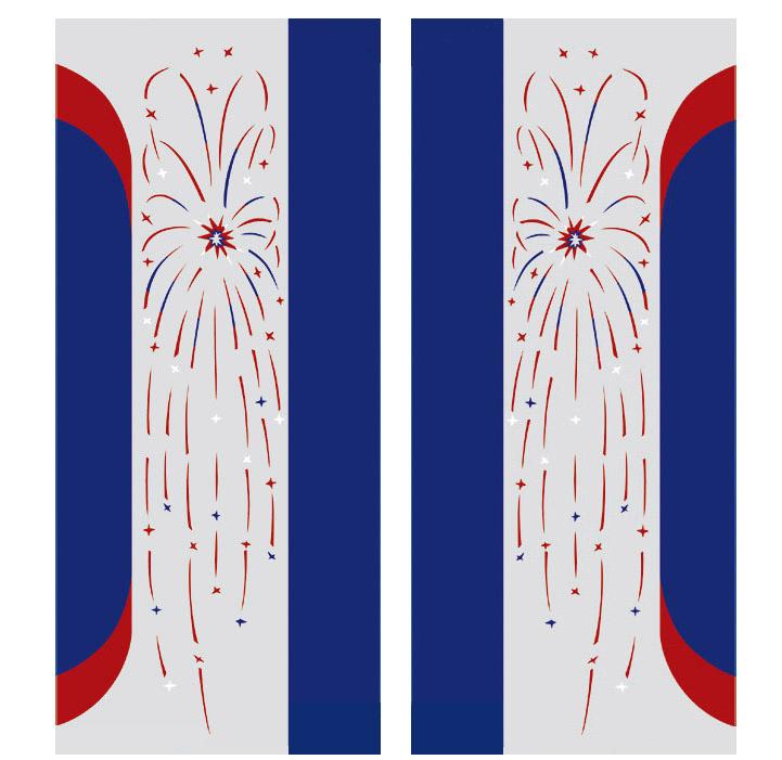 Farbfolien für Pilaster W1800