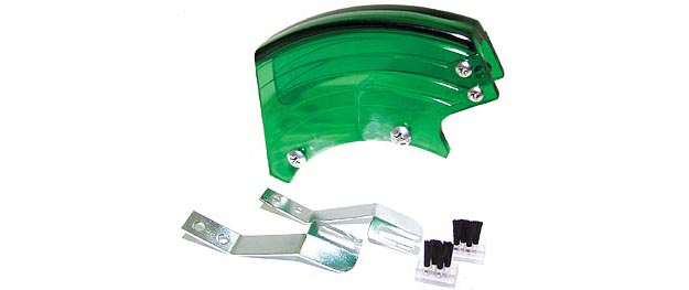Stripper plate, set - green