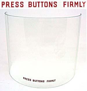 """Aufkleber """"Press Buttons Firmly"""""""