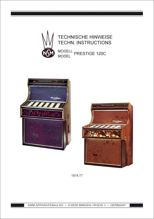 Technische Hinweise Prestige 120C