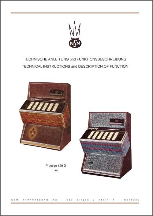 Technische Hinweise Prestige 120D