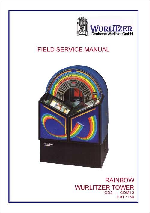 Field Service Manual Wurlitzer Rainbow