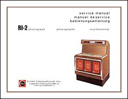 Service Manual Rowe/AMI RI-2