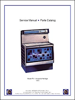 Service Manual Rowe/AMI RI-1, RI-1G