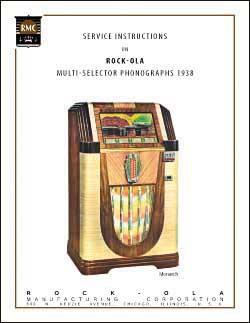 Service Manual Rock-Ola 1938
