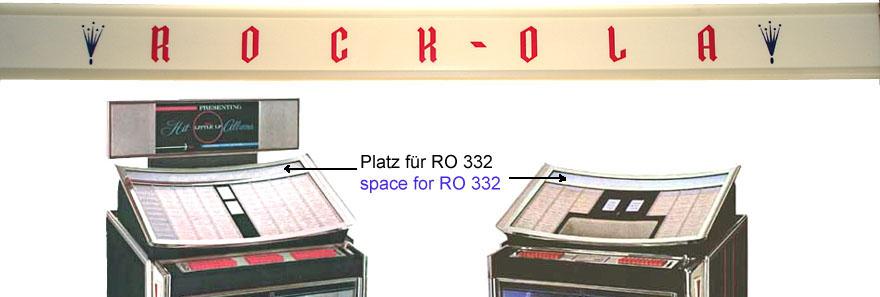 Schriftzug * ROCK-OLA * 51 x 745