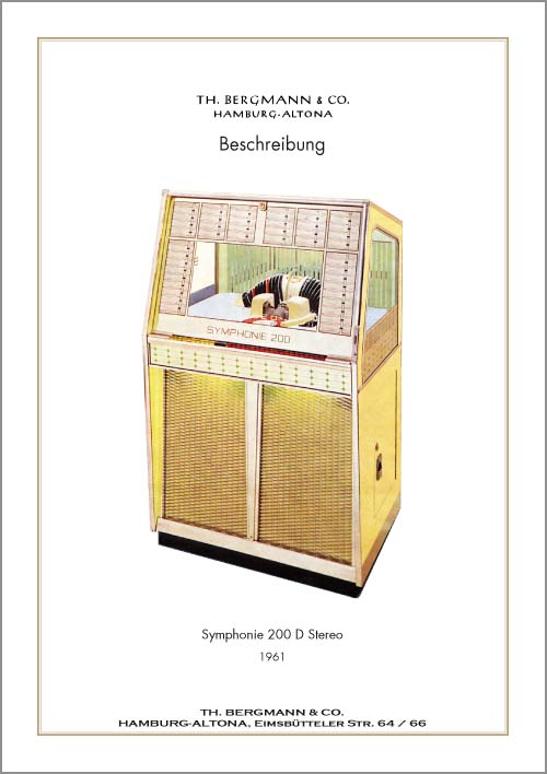 Service Manual Bergmann S200D