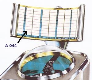 """Title glass in """"radar screen"""""""