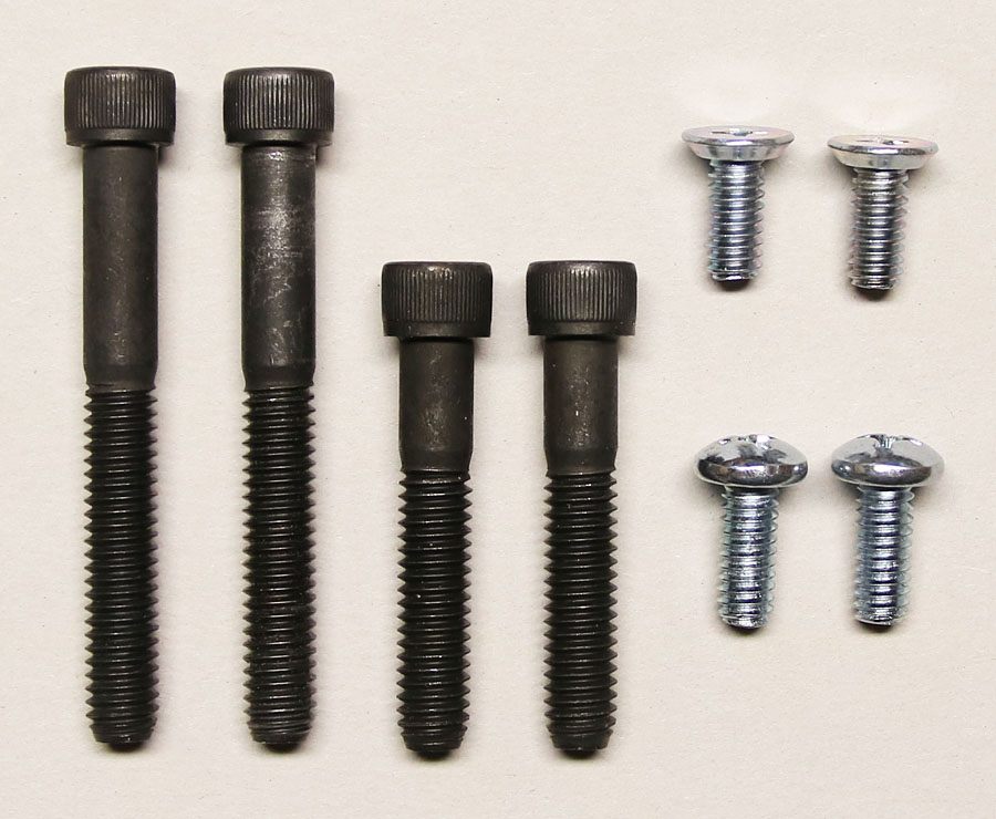 Screw set for neck casting